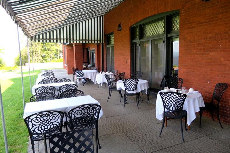 Terrace at The Inn at Shelburne Farms
