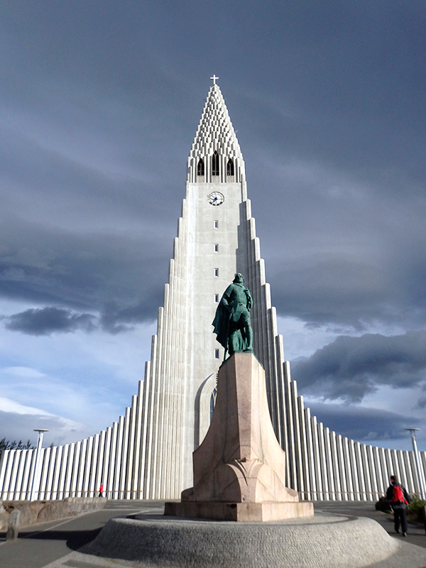 Hallgrímskirkja Church - Photo by Hideaway Report editor