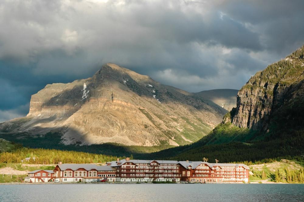 Many Glacier Hotel at Glacier National Park