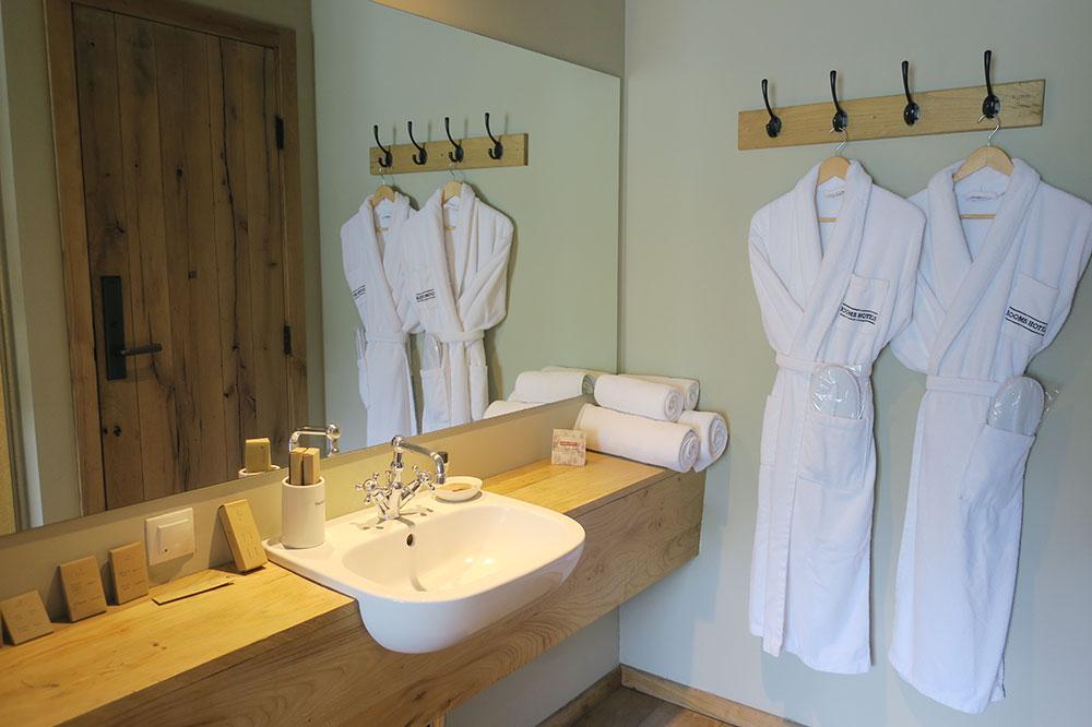 The bath of our Signature Room at Rooms Hotel Kazbegi