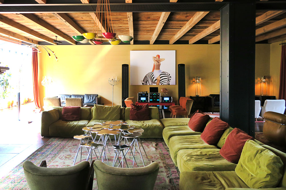 The lounge at Rooms Hotel Tbilisi