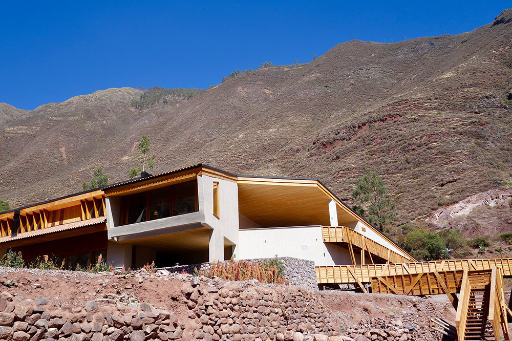 The exterior of explora Valle Sagrado