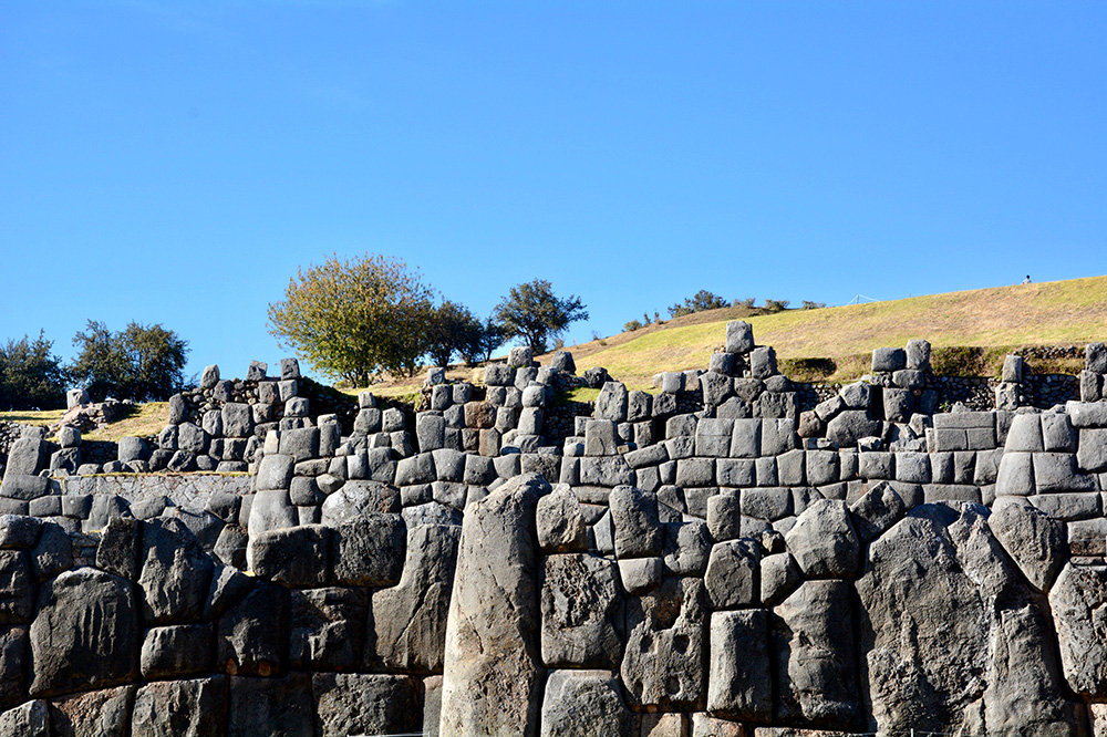 The Inca ruins of Sacsayhuaman in Cusco, Peru