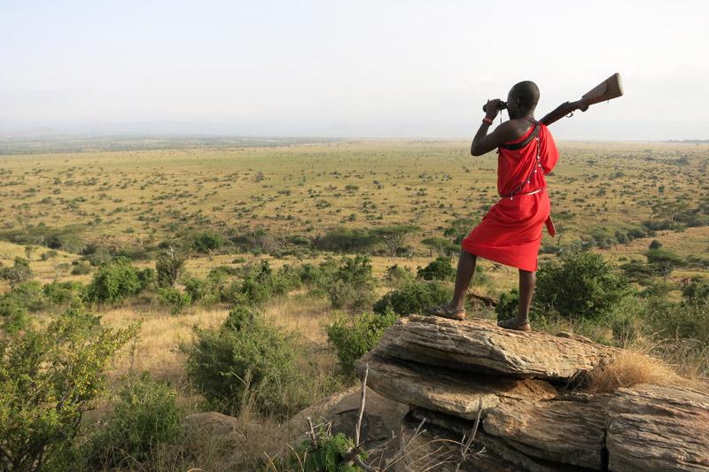 Samburu Guide at Lewa Wilderness, Kenya
