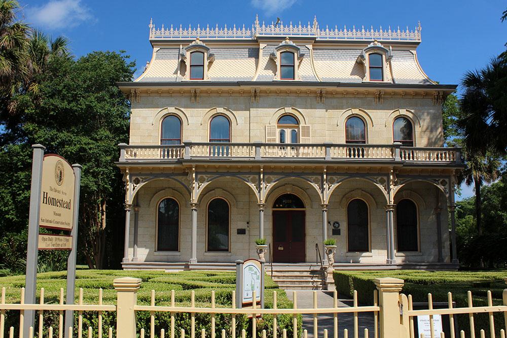 Edward Steves Homestead, built in 1876 of ashtar limestone