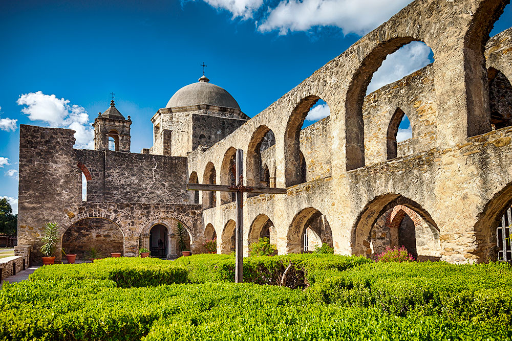 """Built in 1720, Mission San José is known as the """"Queen of the Missions"""""""