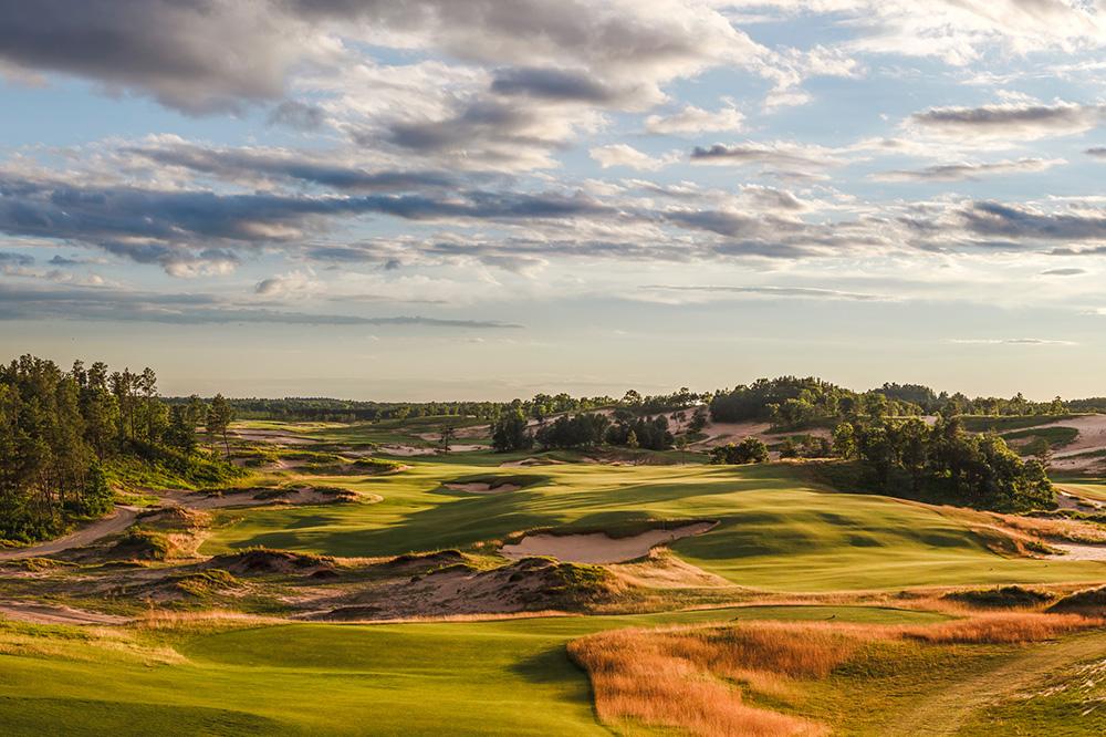 Sand Valley Golf Resort in Rome, Wisconsin