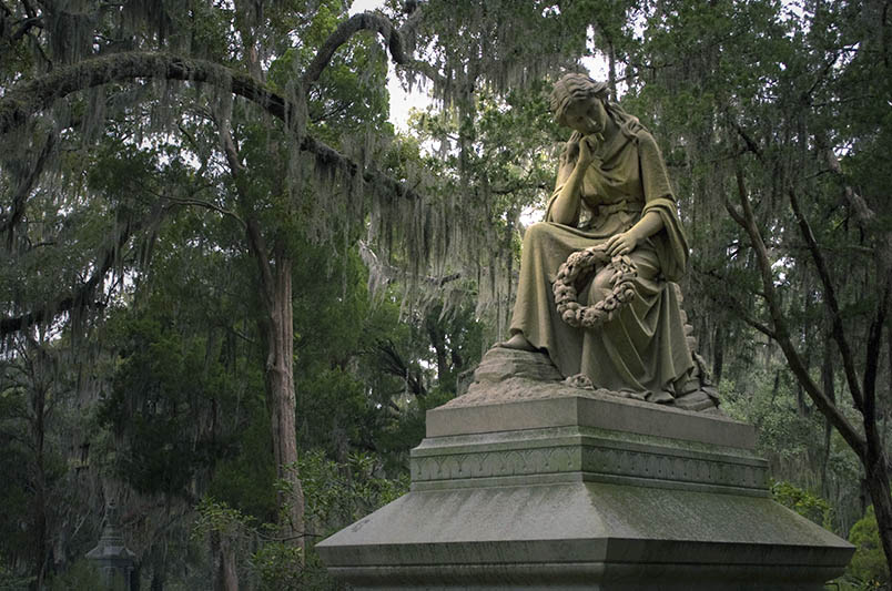 Bonaventure Cemetery in Savannah, Georgia.
