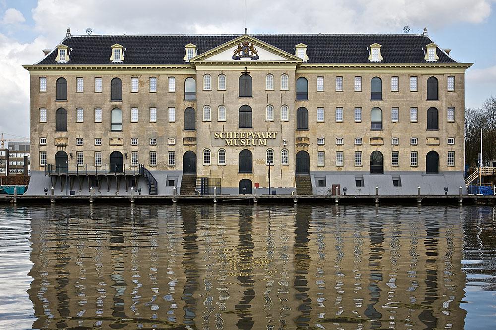 Het Scheepvaartmuseum, the maritime museum in Amsterdam