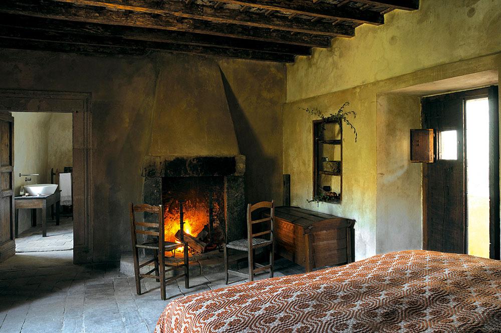 A room at Sextantio Albergo Diffuso in Santo Stefano di Sessanio