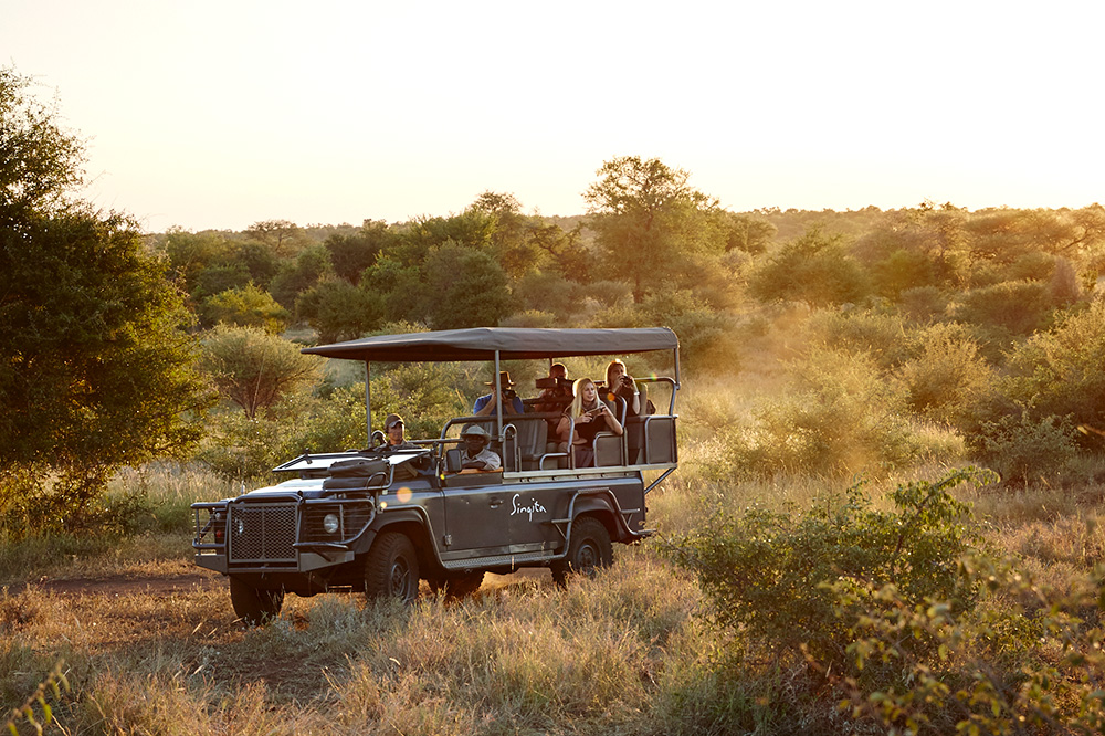 A game drive with Singita at its Sweni Lodge in Kruger National Park, South Africa
