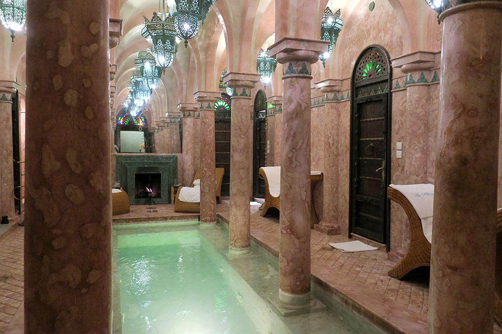 The spa at La Sultana Marrakech