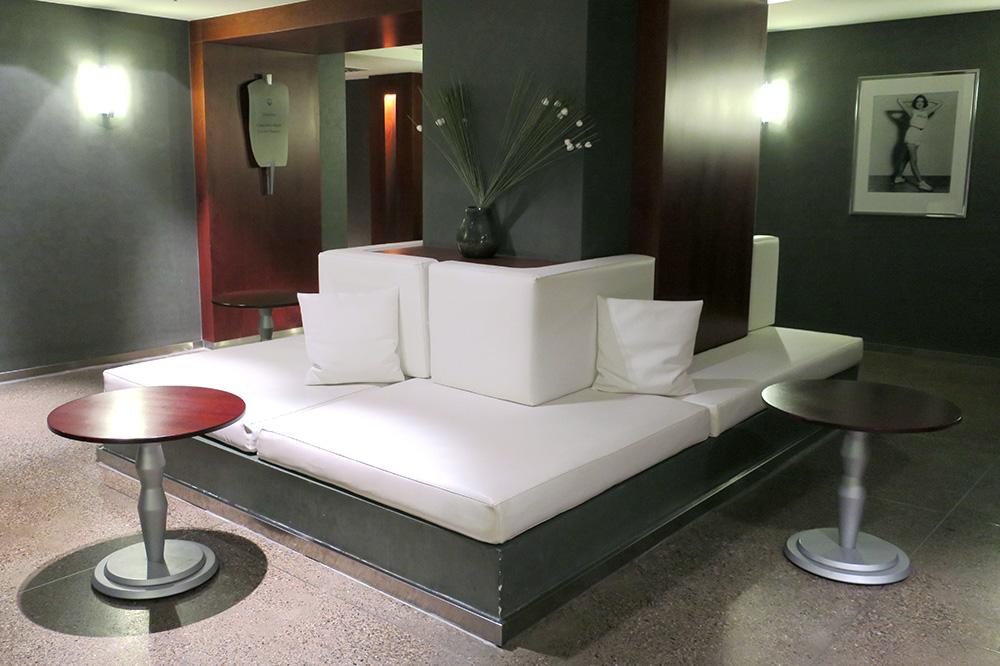 The spa at the Park Hyatt Hamburg
