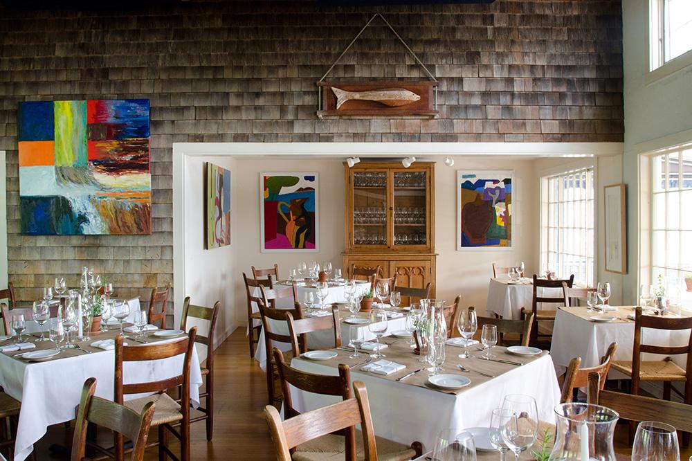 The interior of <em>Straight Wharf Restaurant</em>