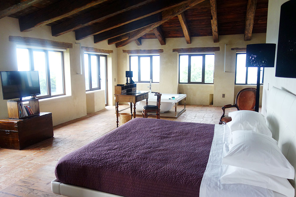 Our suite at Castello di Semivicoli in Semivicoli