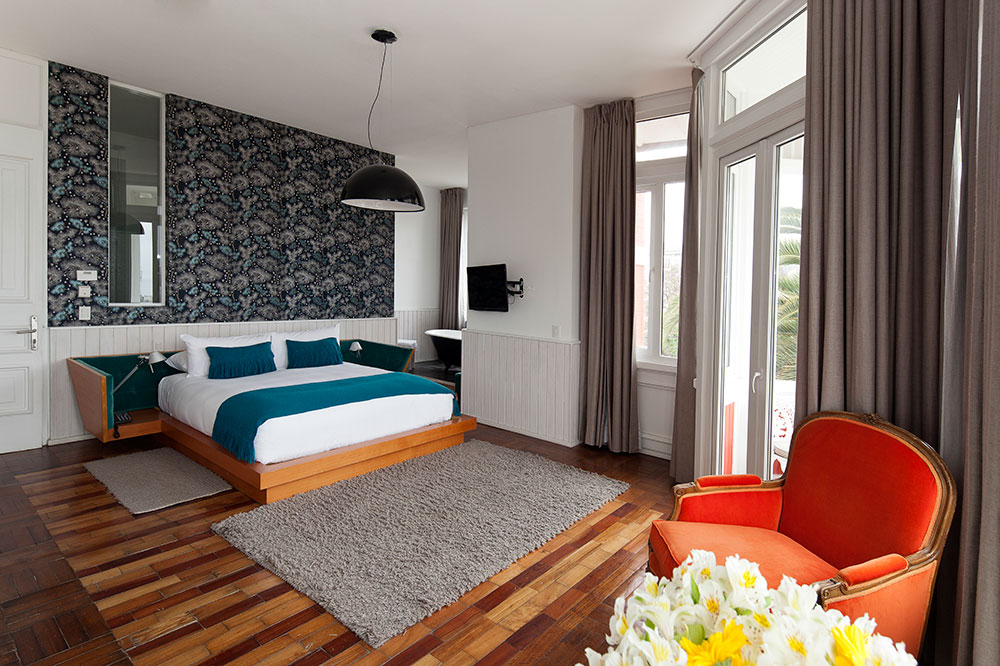 A suite at Palacio Astoreca