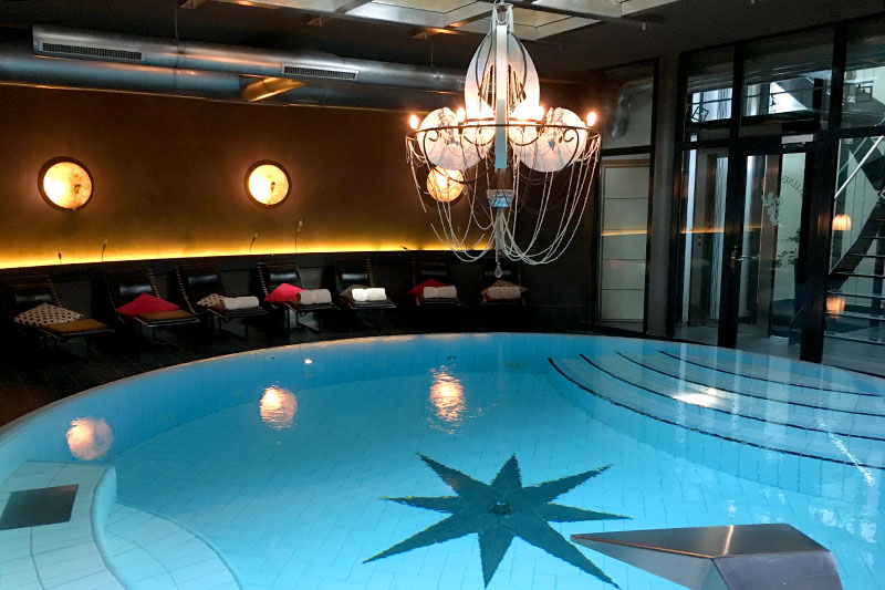 Indoor pool at Coeur des Alpes - Photo by Hideaway Report editor
