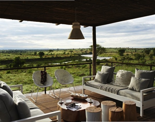 ta Mara River Tented Camp lounge