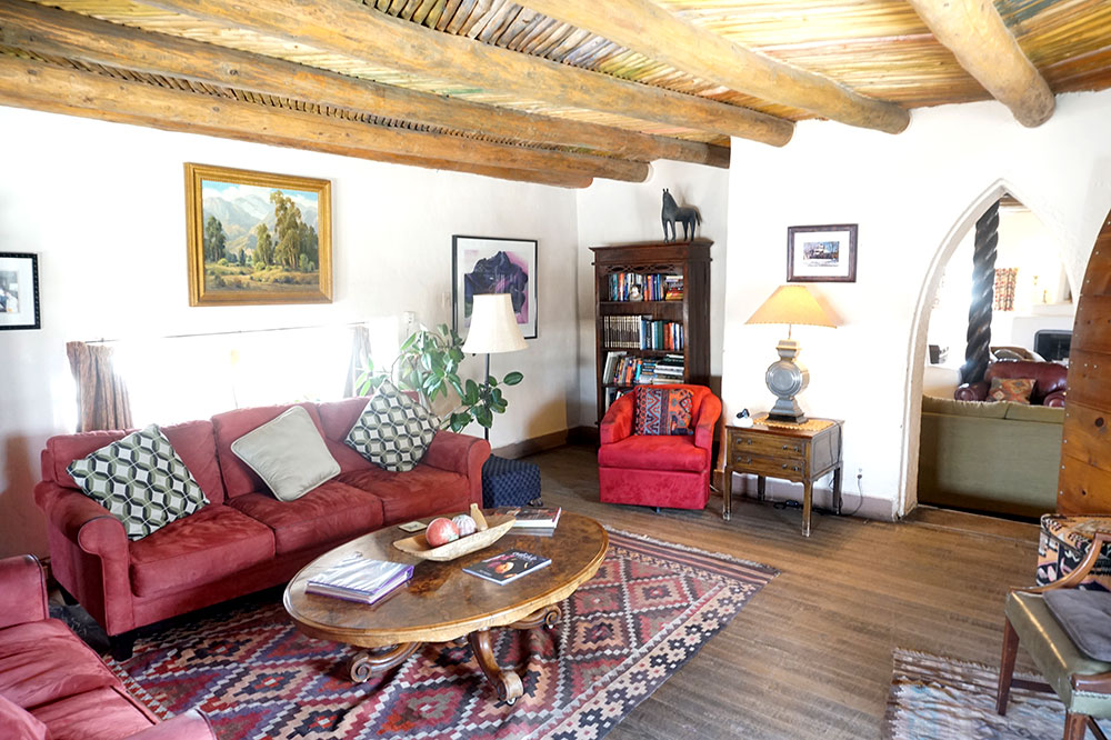 The Mabel Dodge Luhan House in Taos, New Mexico - Photo by Hideaway Report editor
