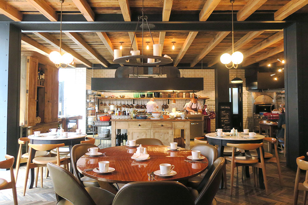 The Kitchen dining room at Rooms Hotel Tbilisi