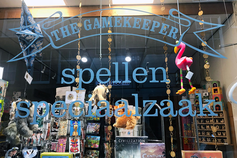 The Gamekeeper store in Amsterdam, Netherlands - Christina Valhouli