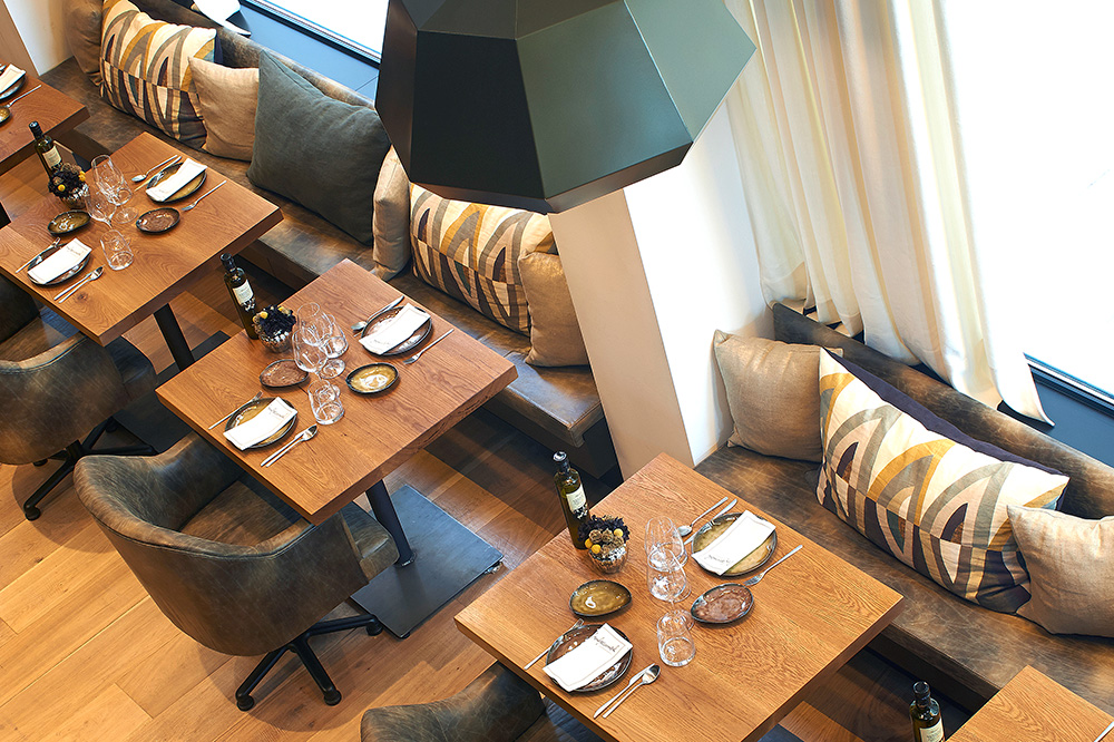 <em>Informal</em> restaurant at The Serras in Barcelona, Spain