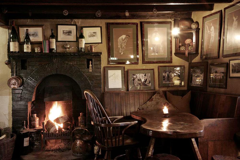 The interior of <em>The Star Inn</em> in Harome, England