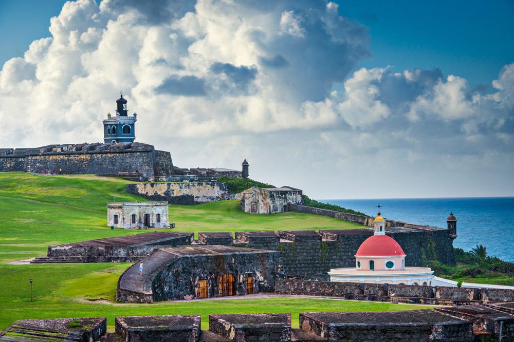 San Juan, Puerto Rico historic Fort San Felipe Del Morro