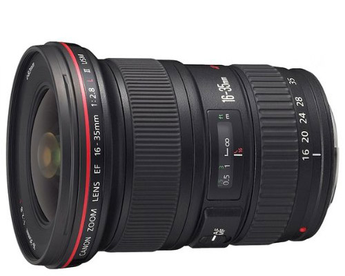 Canon Wide-Angle Lens - Photo courtesy of Amazon