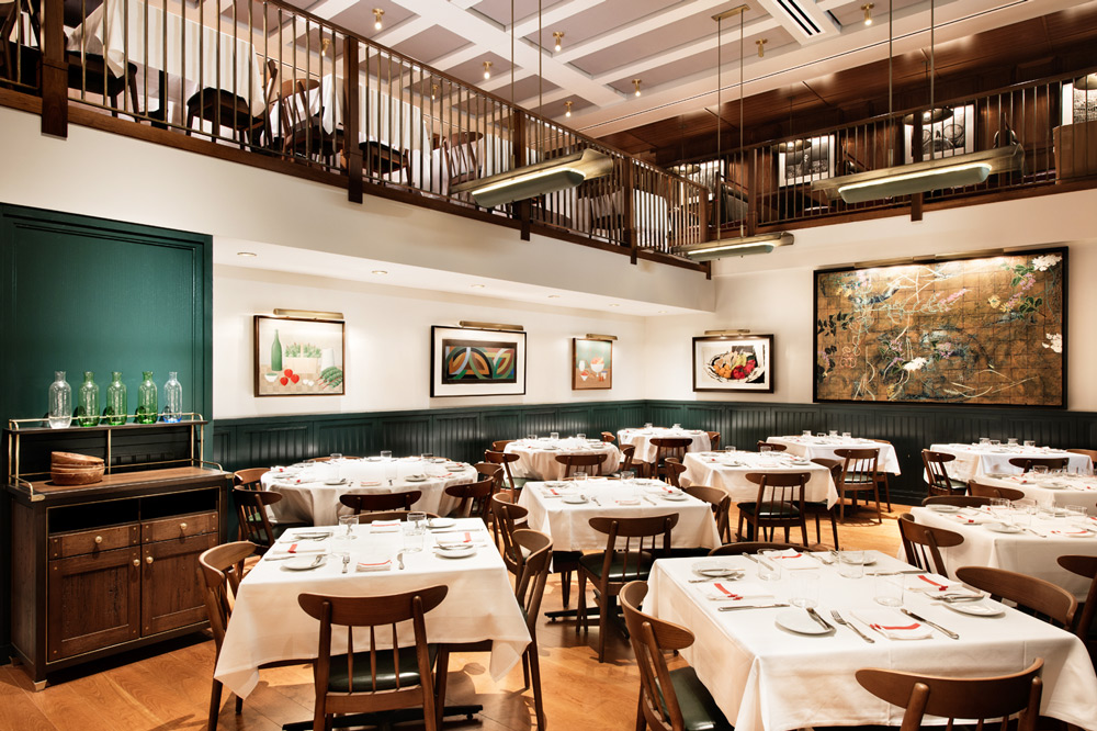 Dining room at <em>Union Square Cafe</em> -  Emily Andrew/Courtesy of Rockwell Group