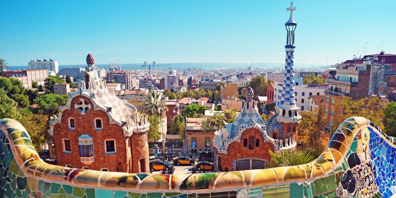 Park Güell by Antoni Gaudí
