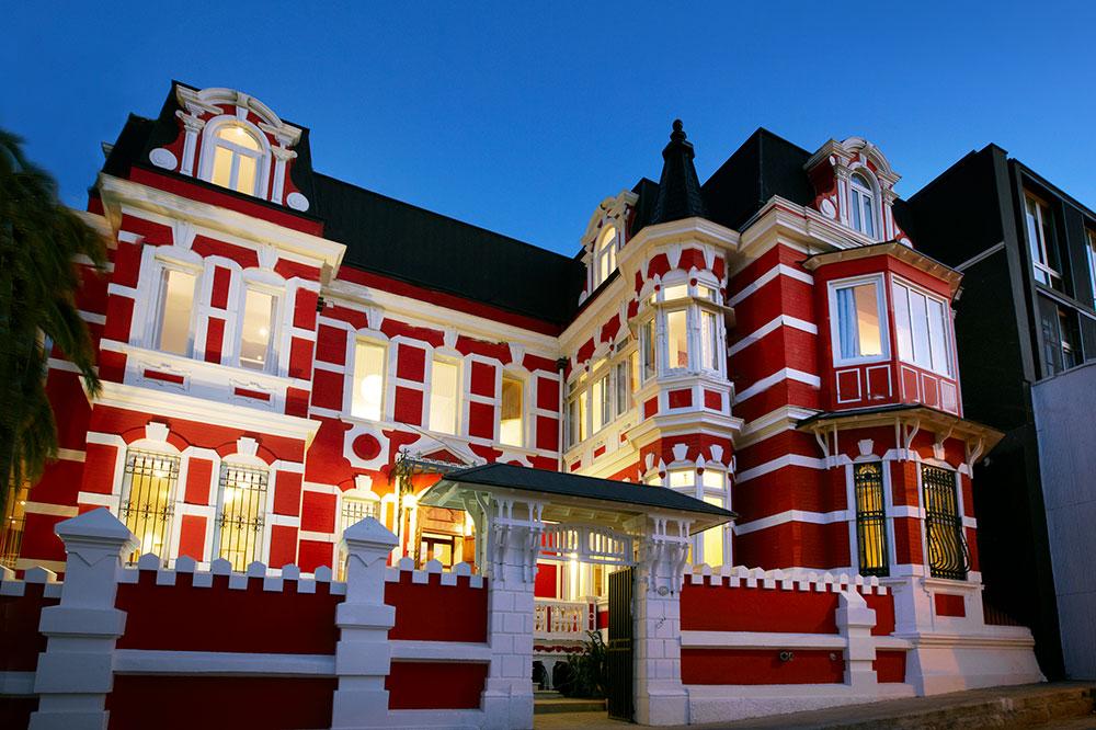 Palacio Astoreca in Valparaíso