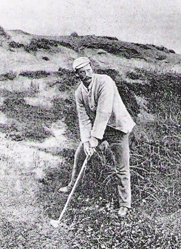 Willie Campbell in 1885 - GolfClubAtlas.com/Wikimedia Commons