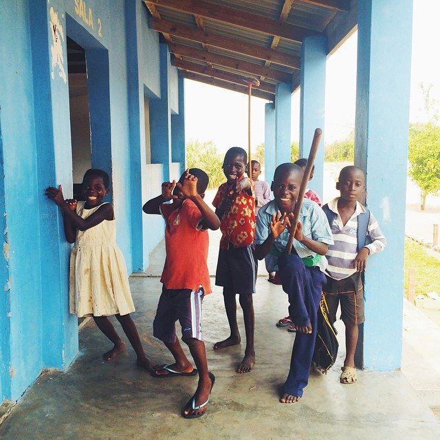 Benguerra Island School Children