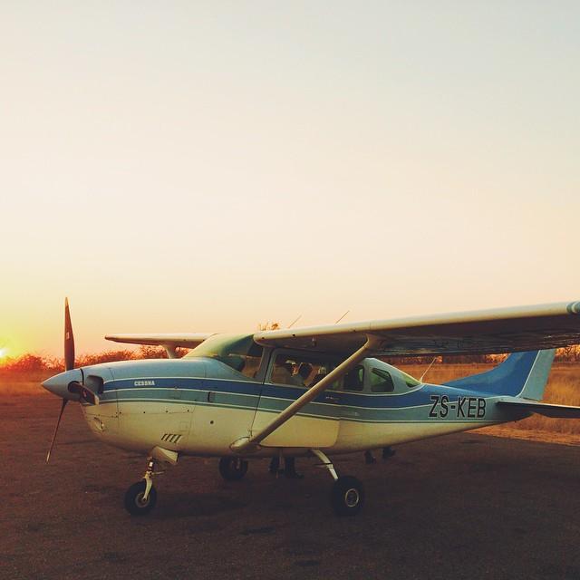 Bush plane to Nelspruit, South Africa