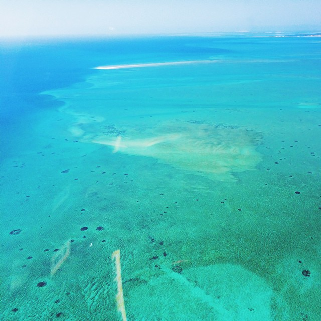 Bazaruto Bay Helicopter View