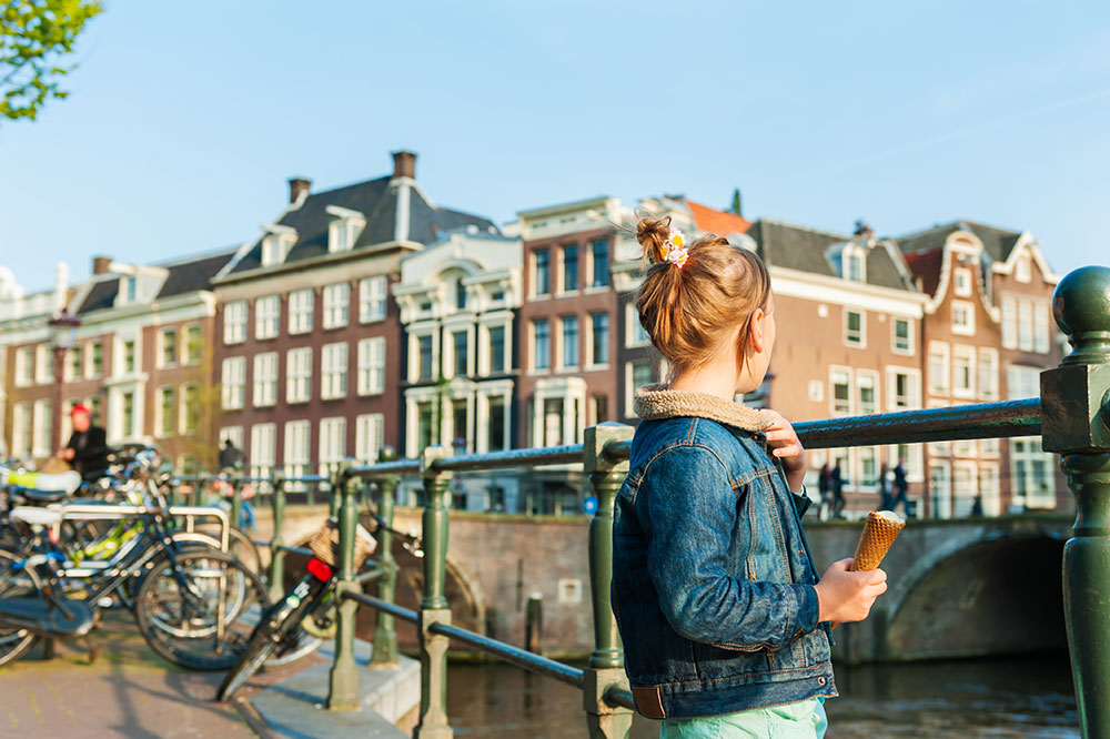 A young girl in Amsterdam, Netherlands - AnnaNahabed/iStock/Getty Images Plus